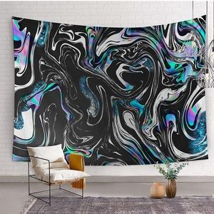 Distorted Trippy AestheticWall Hanging Tapestry